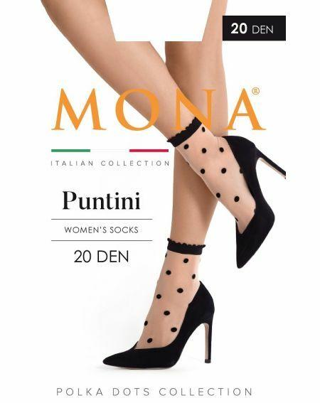 Chaussettes Mona Puntini 20 deniers