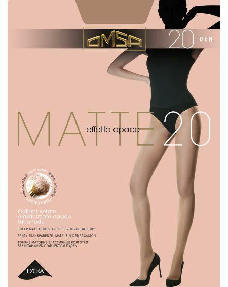 Collant Omsa Mat 20 deniers 2-5