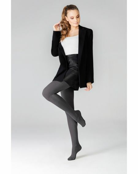 Collants Mona Melange 3D 50 deniers 5-XL