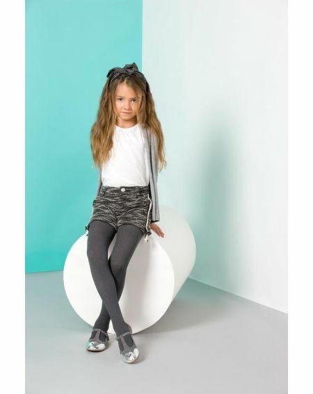 Melange children's tights