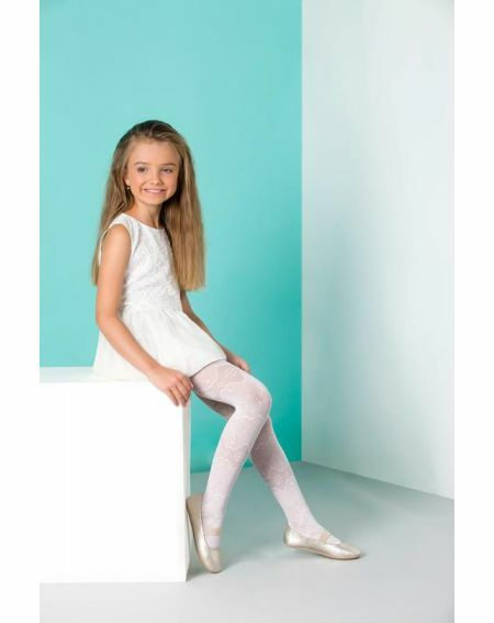 Lila Kinderstrumpfhose