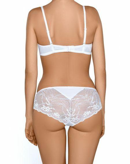 Nipplex Sandra white shorts