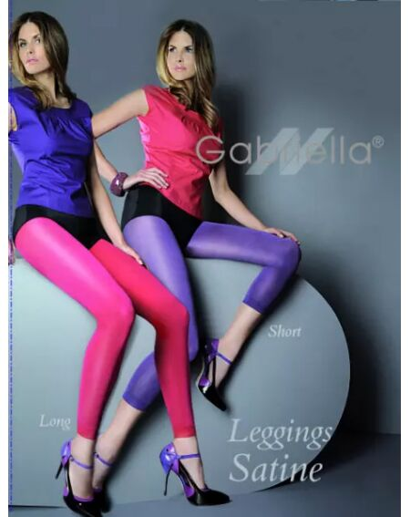 Gabriella Legging Satiné Long