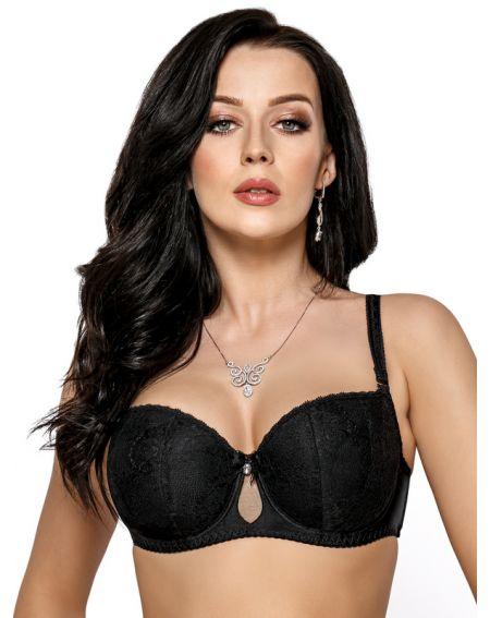 Gorsenia Bellie balconette bra - black K423