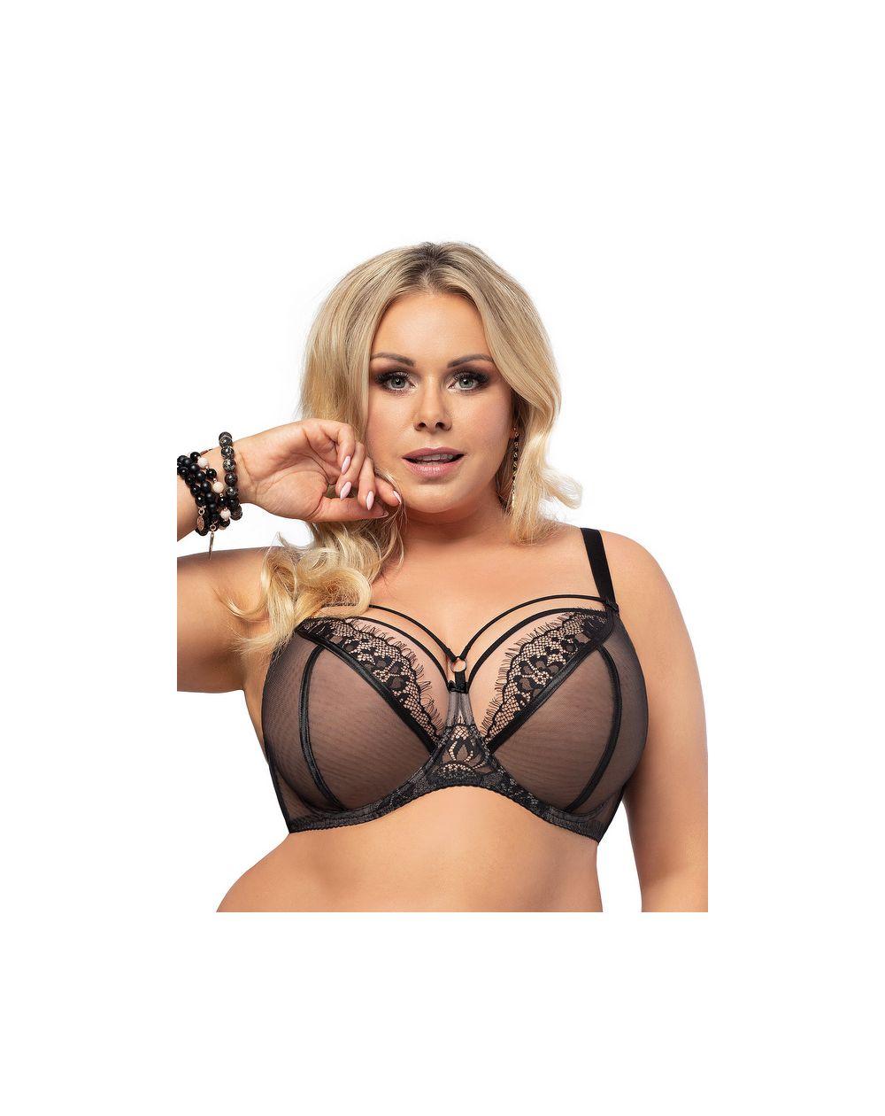 Gorsenia Paradise soft bra - black K496