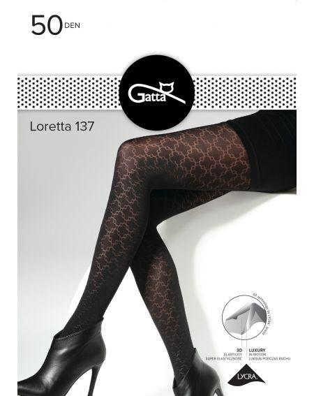 Gatta Loretta collant modello 137 50 denari 2-4