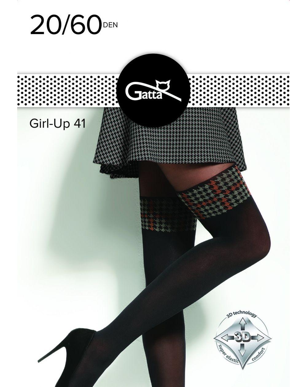 Rajstopy Gatta Girl-Up wz.41 20/60 den 2-4