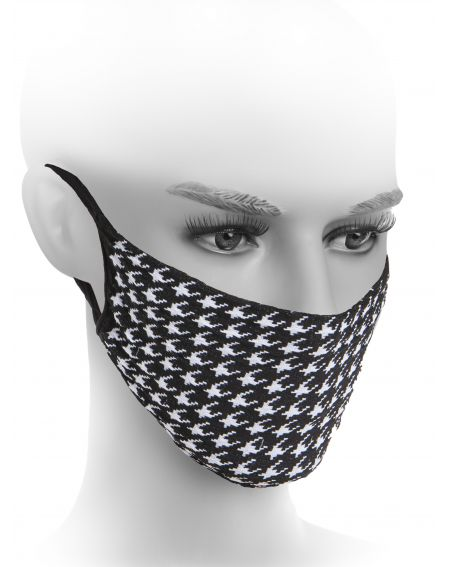 Fiore Hygiene mask Houndstooth