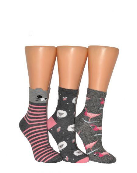 Calcetines de mujer Milena, Patrón 37-41