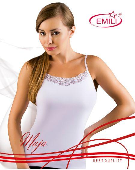 Camiseta de Emila Maja blanca 2XL