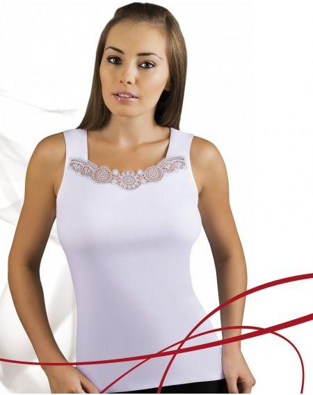 Camiseta blanca Emili Milia S-XL