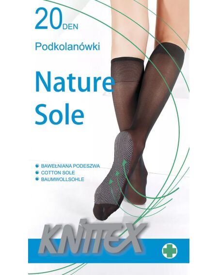 Knittex Nature Sohle 20 den