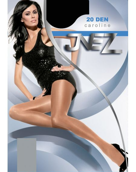Inez Caroline Elastil Collants 20 deniers 3-L