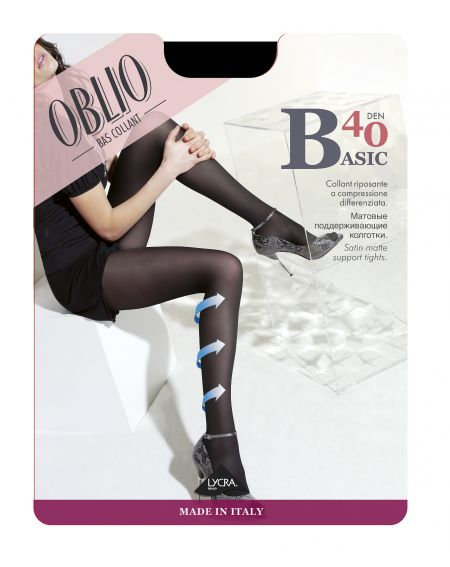 Oblio Basic tights 40 denier 5-XXL